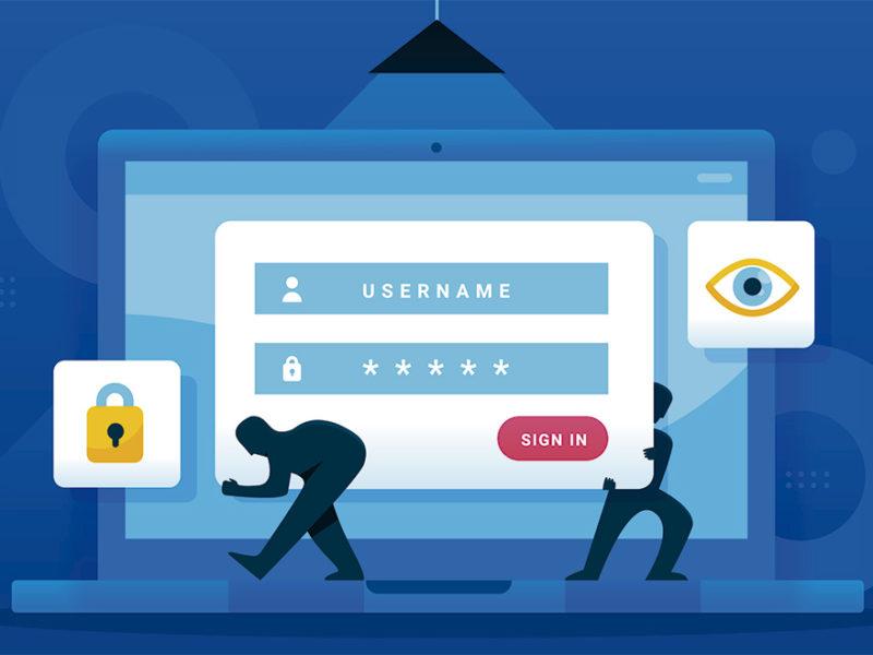 Ilustración ciberataques