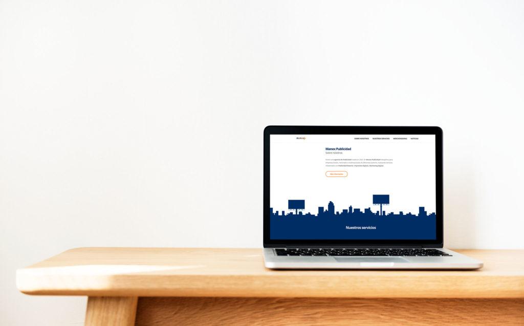 Captura web manex